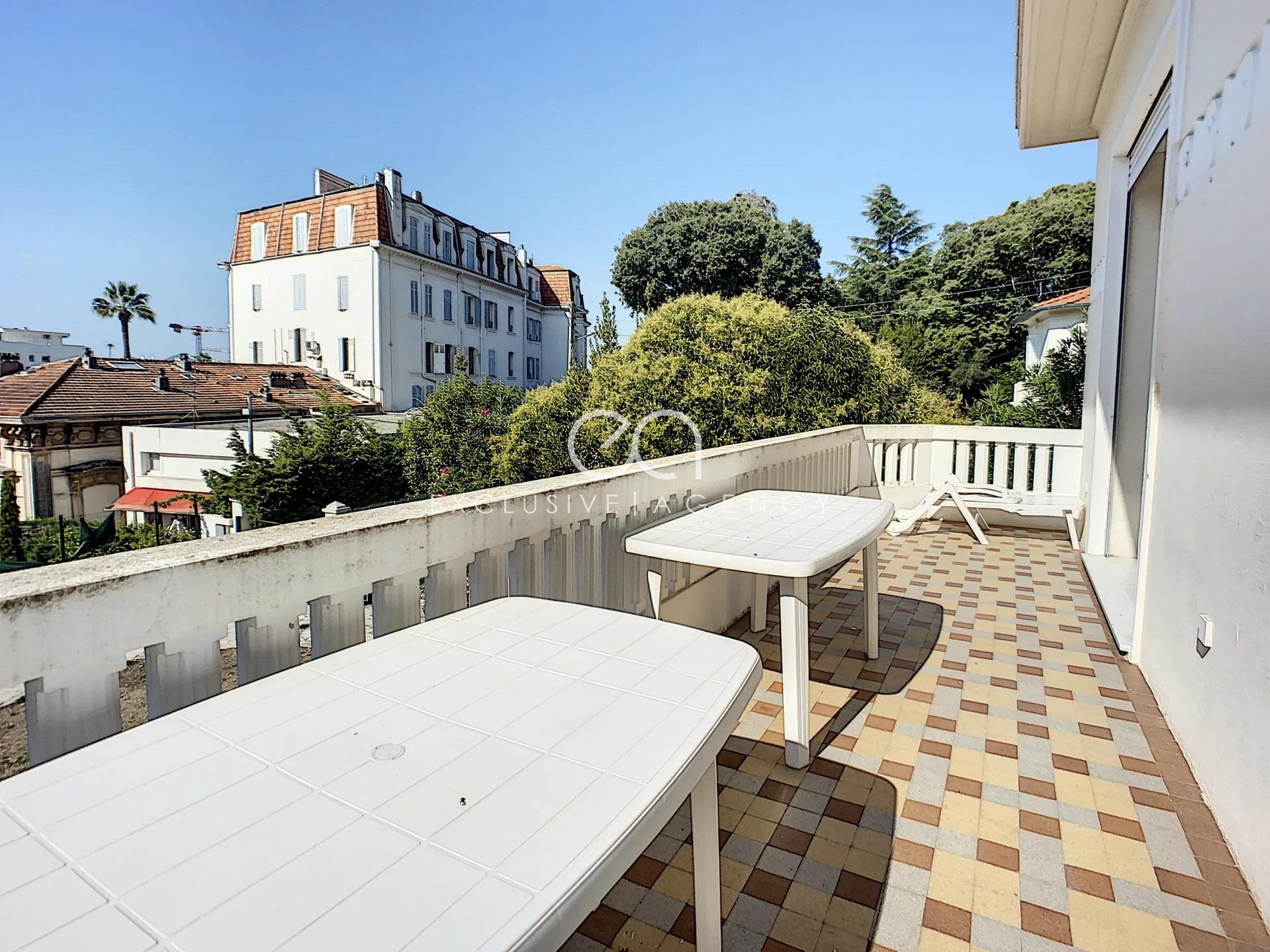 Cannes Montfleury - House of 205m² south exposed