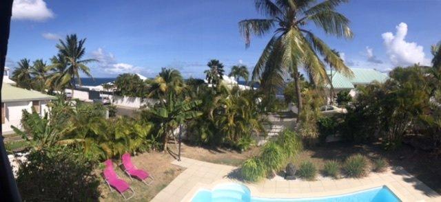 Belle villa T4 vue mer sur la route touristique