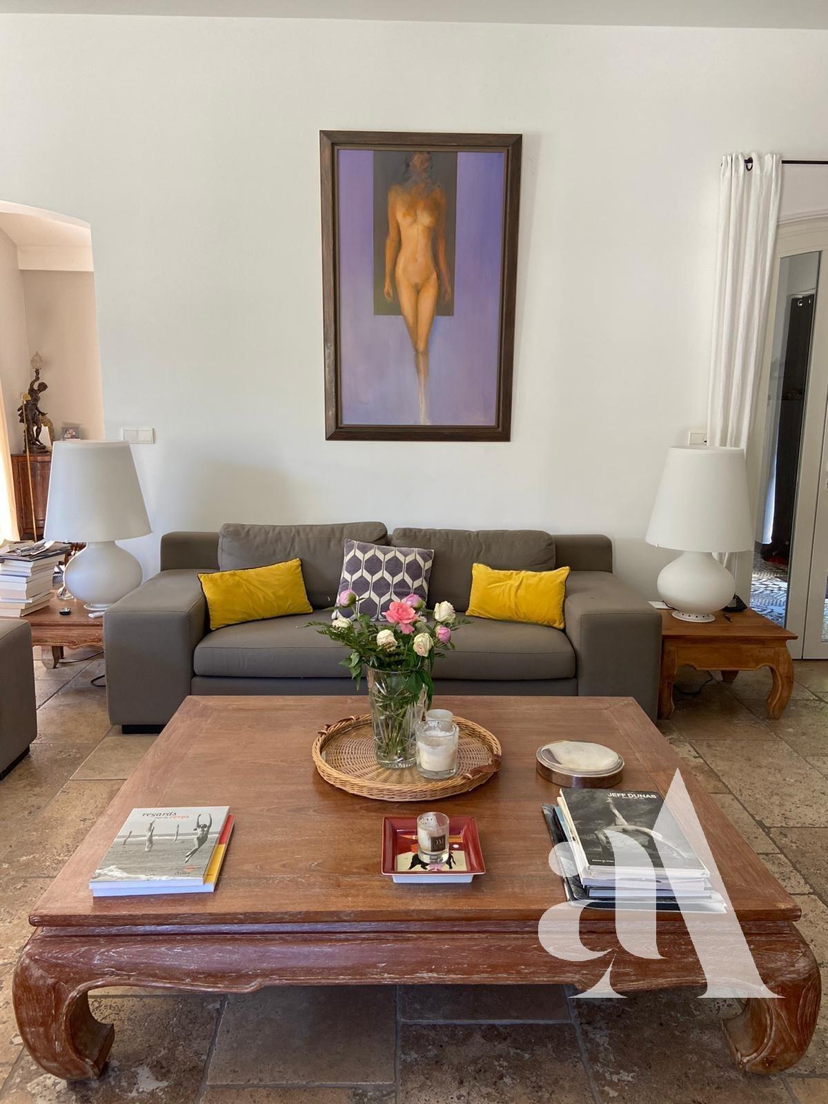 MAS DE LA PINEDE - ALPILLES - ST ETIENNE DU GRES - 4 chambres - 8 personnes
