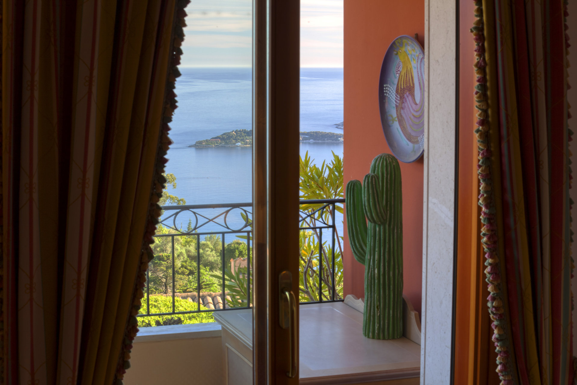 Eze - 2 rooms 42m2 sea view with terrace 14m2