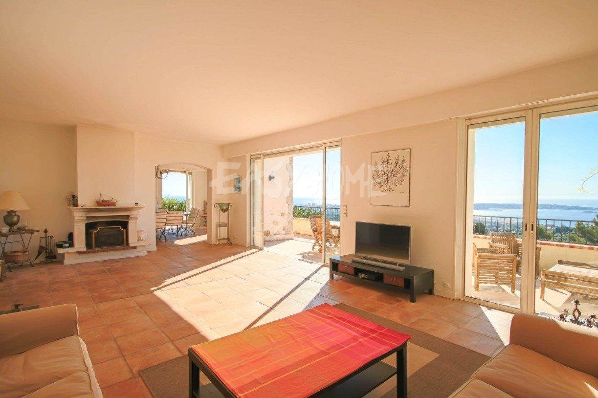 Purchase / Sale villa panoramic sea view in Vallauris Golfe Juan