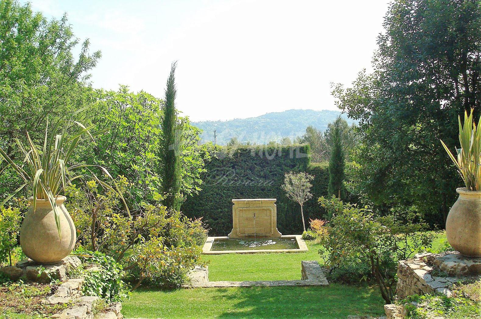 Property for sale French Riviera park of 1.5 hectares