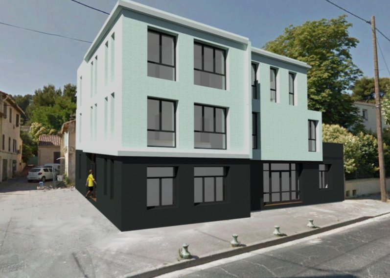 LOCAL NEUF CONTEMPORAIN AVEC 2 PARKING PRIVES