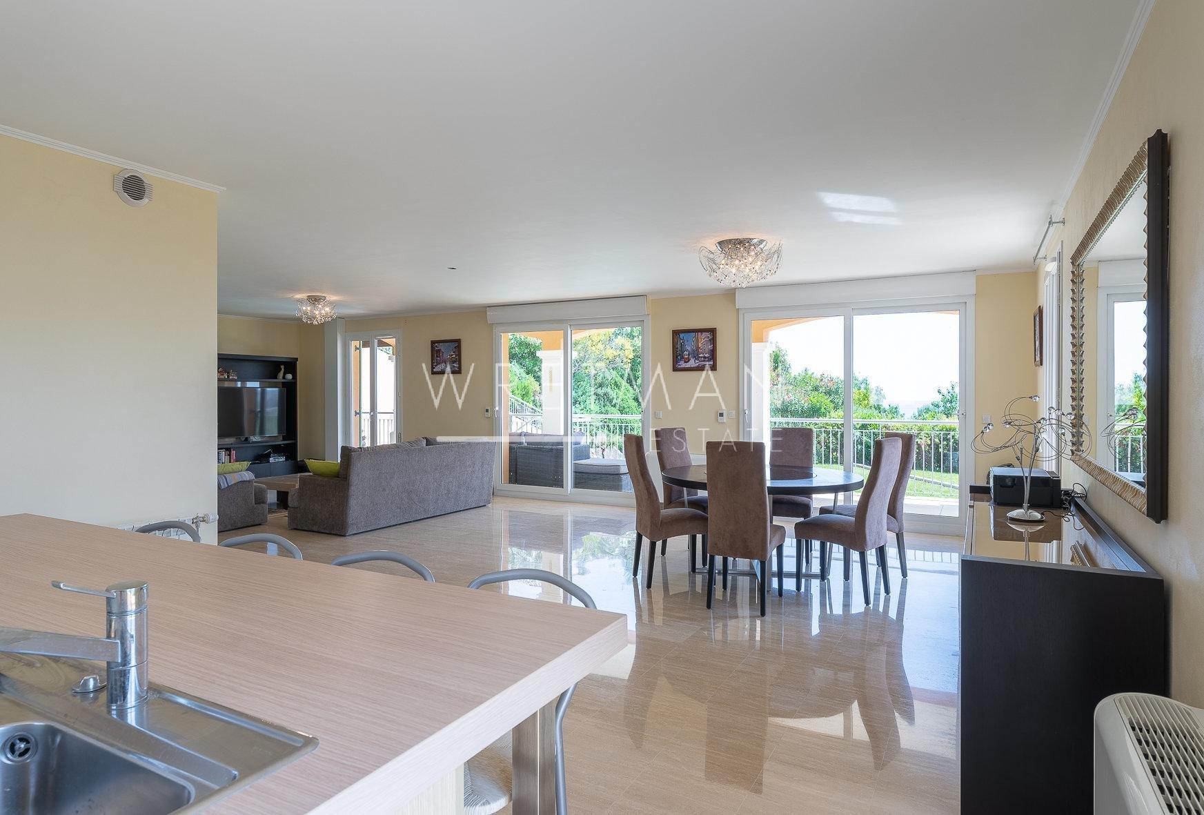 Villa med havsutsikt - Nice Saint Philippe
