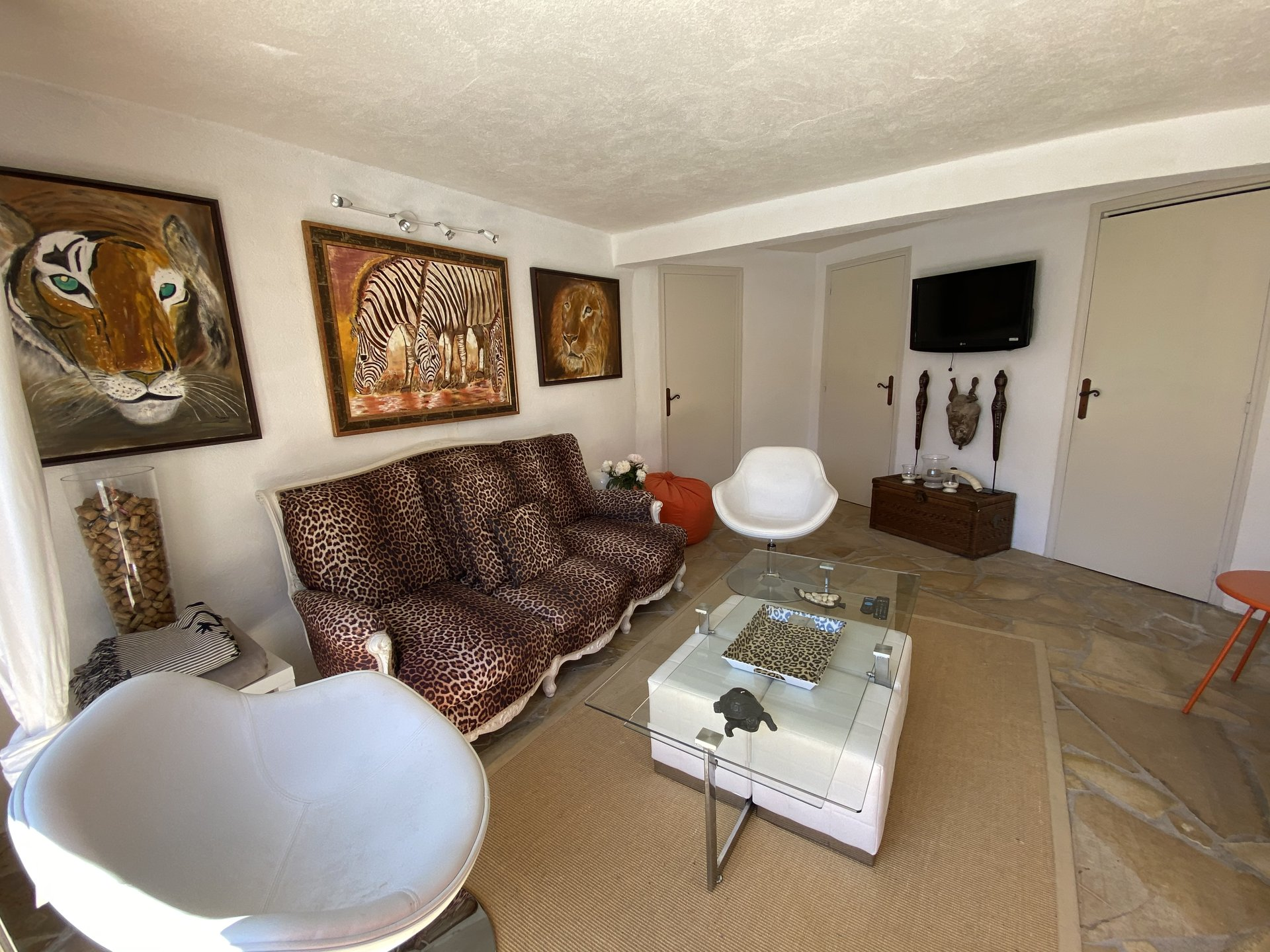 SAINT RAPHAEL- VALESCURE - Maison d'architecte - 7 pièces - piscine