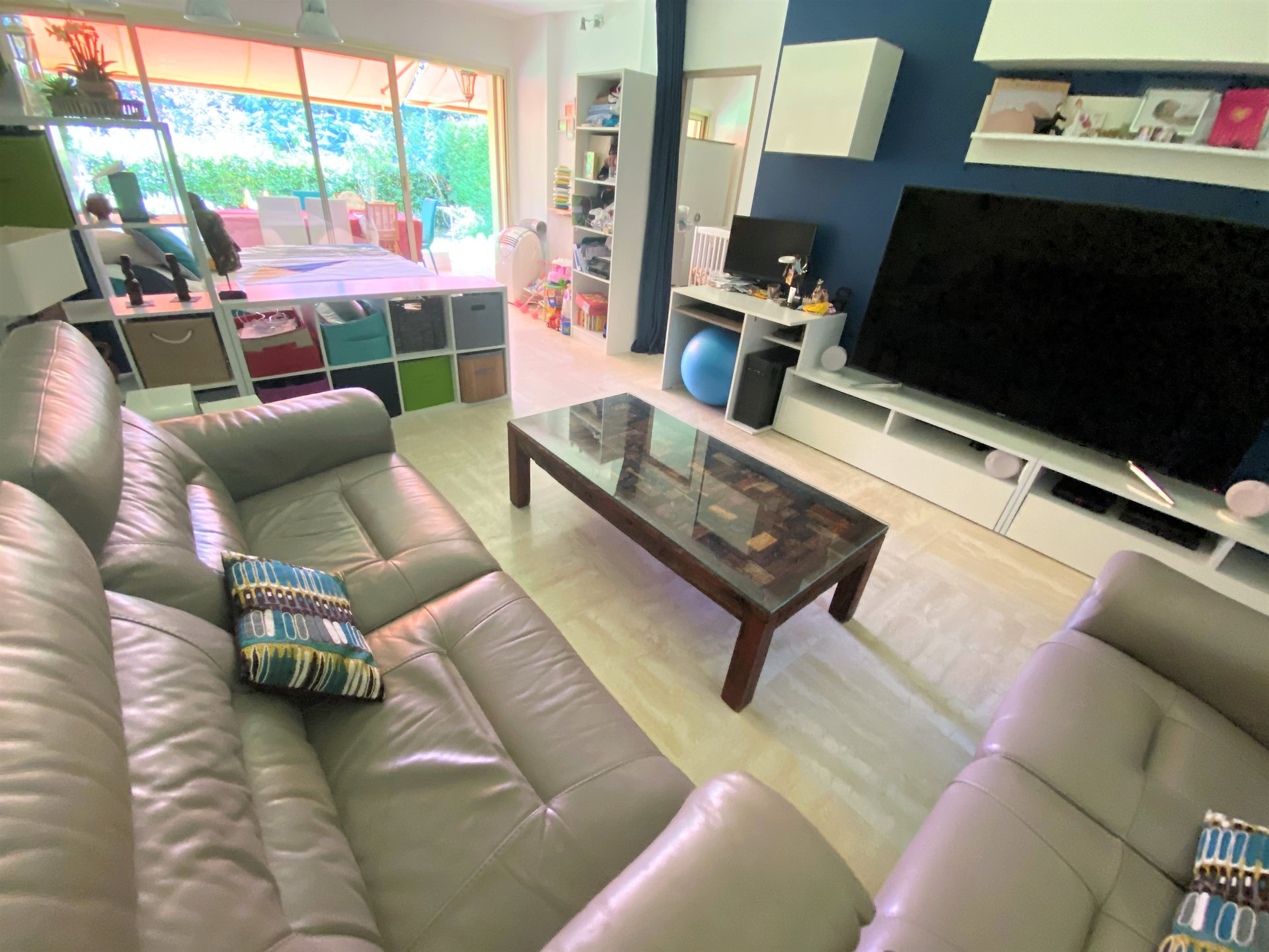 CANNES BEAUTIFUL 3 ROOMS ON GARDEN LEVEL IN A SMALL RESIDENCE IN A QUIET AREA