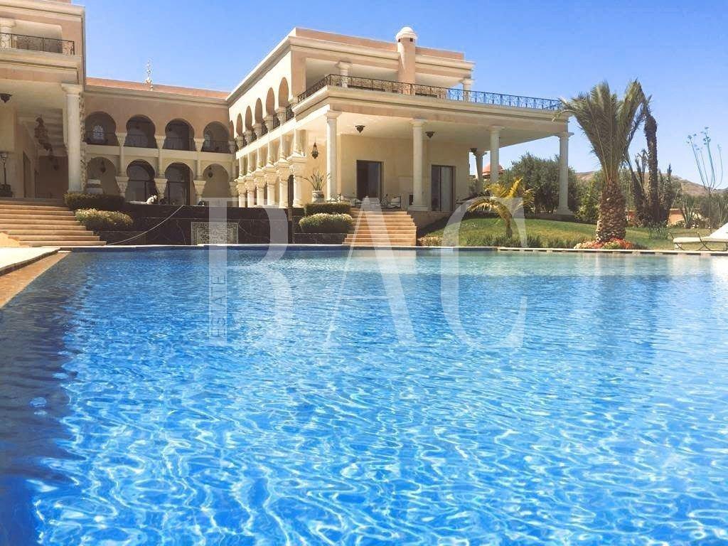 Красивый дворец в Марракеше