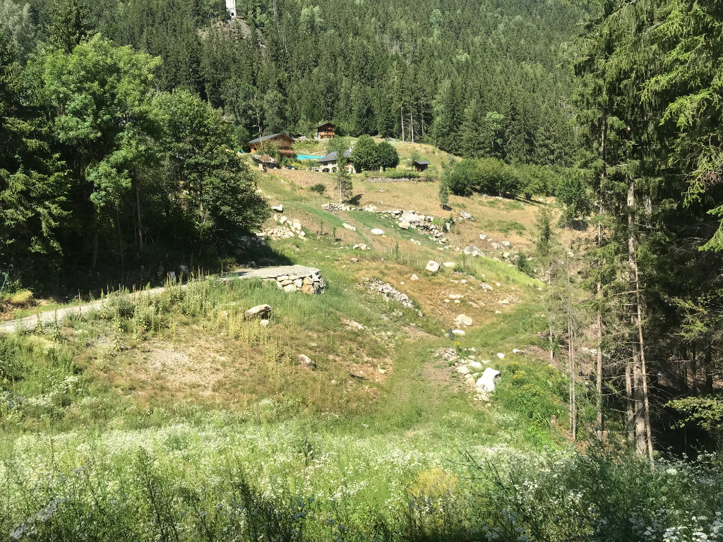 Buildable plot in les Houches