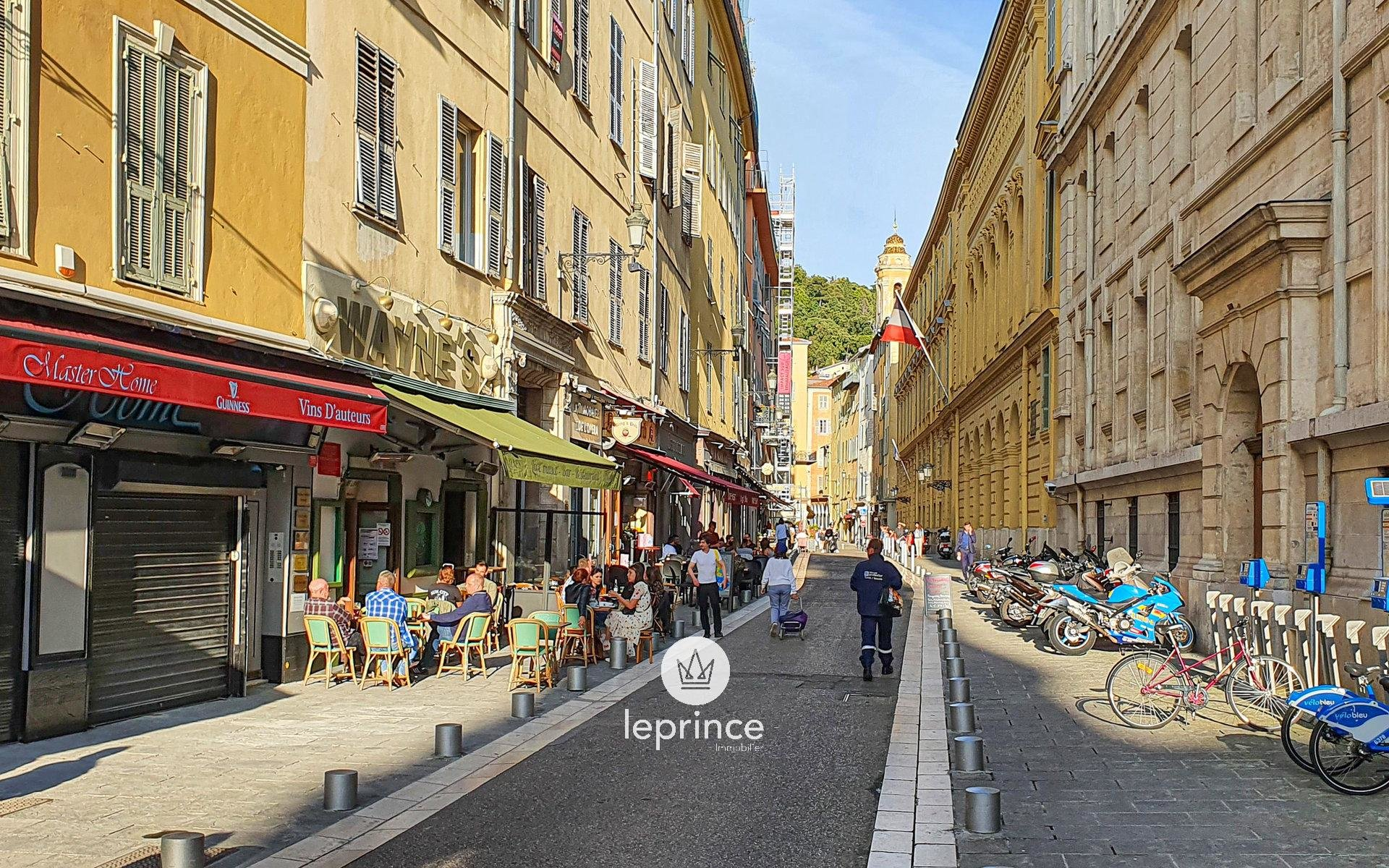 Nice Coulée Verte - Nice Old Town / Renovated and Furnished Studio