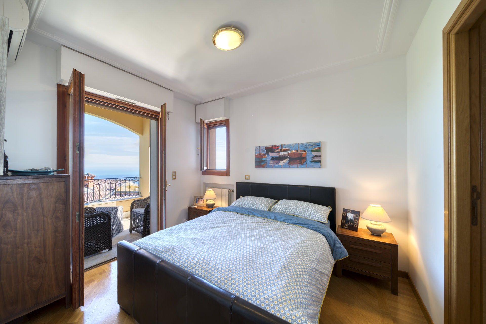 Eze - 2 bedrooms sea view top floor 76m2