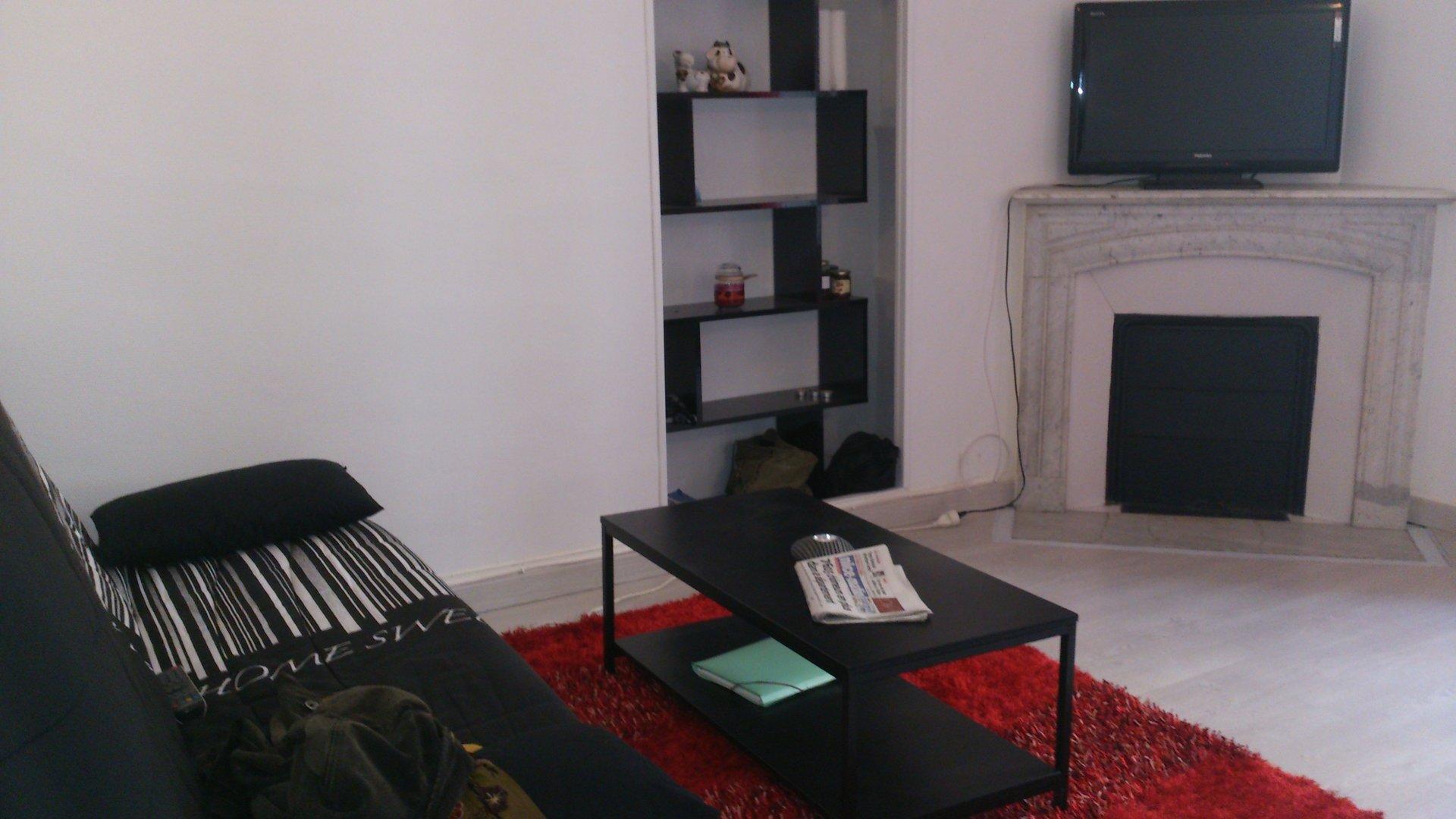Deux pièces 45m² meublé