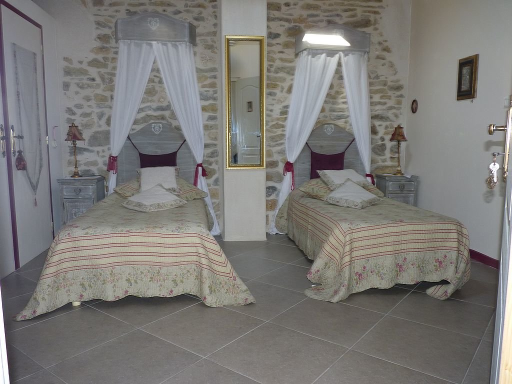 Maison vigneronne en pierre idéale chambres d'hôtes