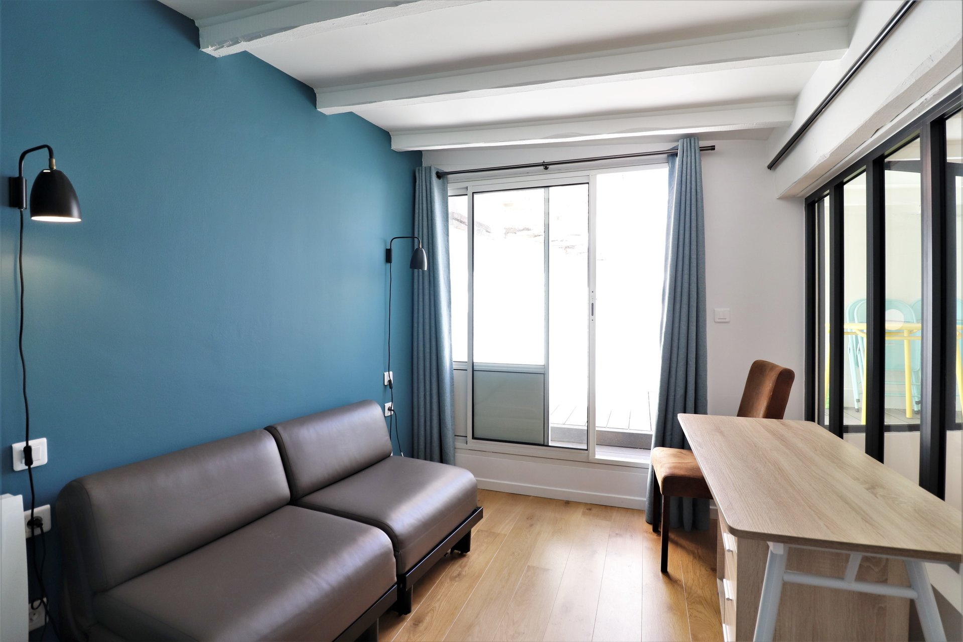 Apartment type 2 bis furnished - Carmes district