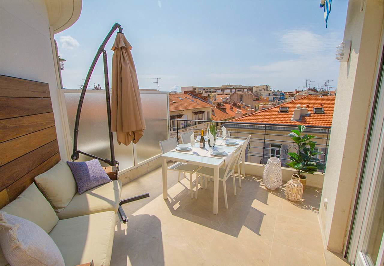2-bedroom with large terrace - Nice Carré d'Or