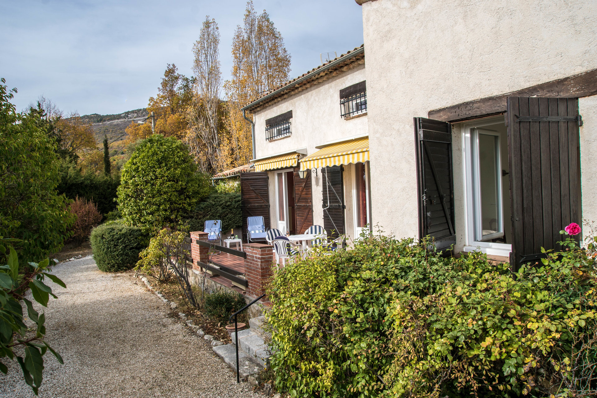 3 bed rooms villa ,at Saint vallier de thiey