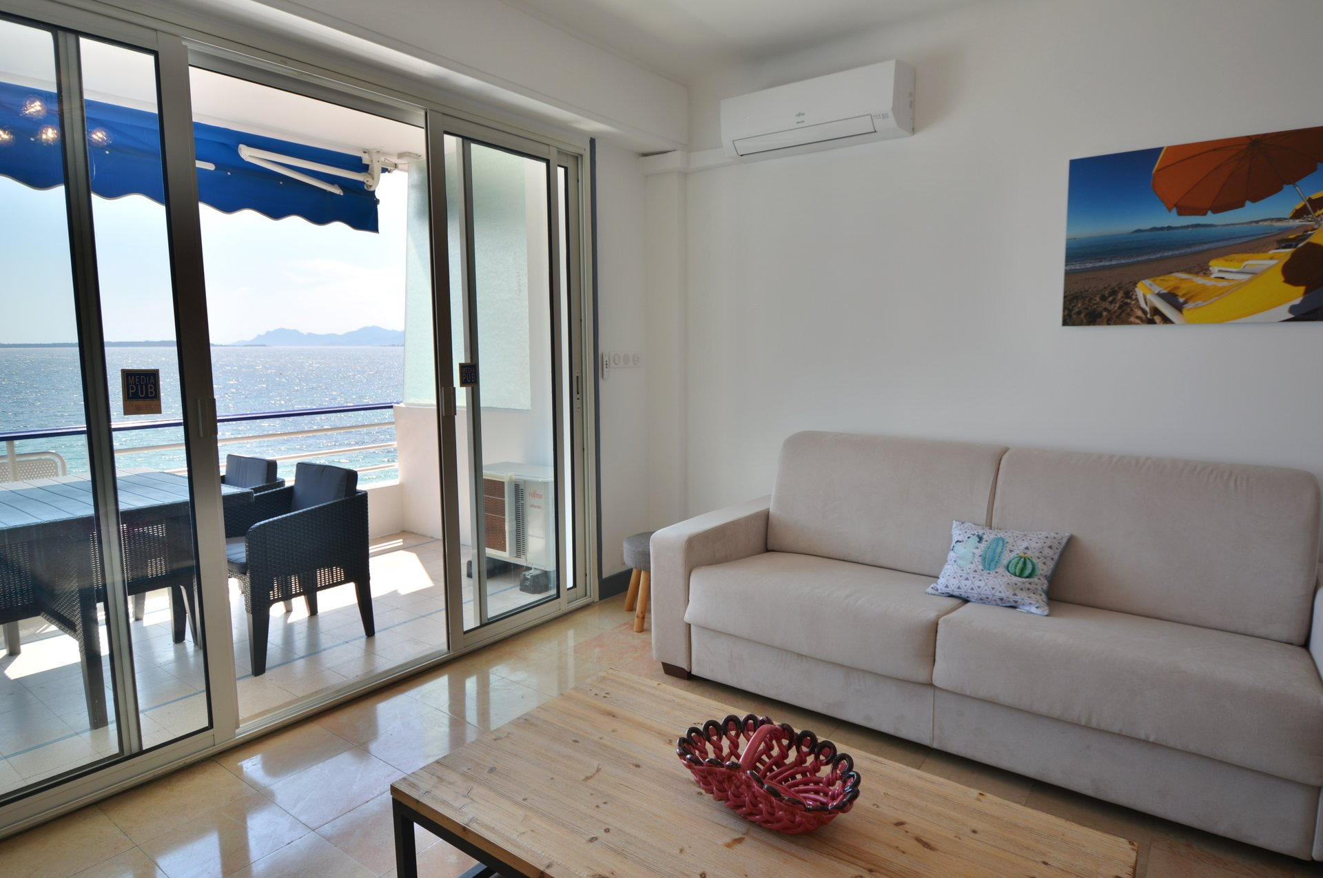 Studio apartment to rent - Juan les Pins waterfront