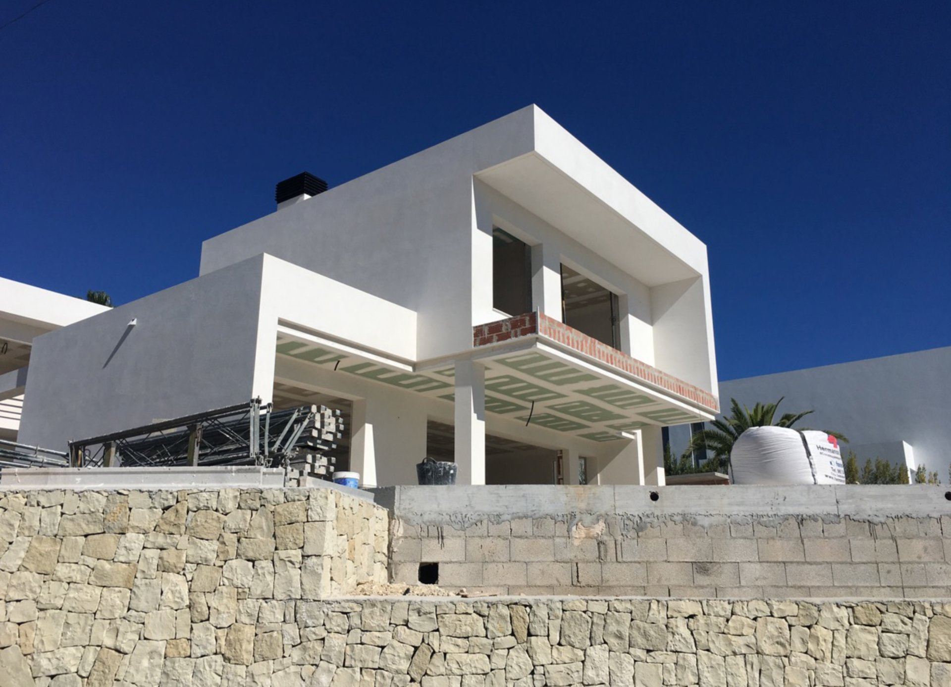 Moderne villabouw in Moraira