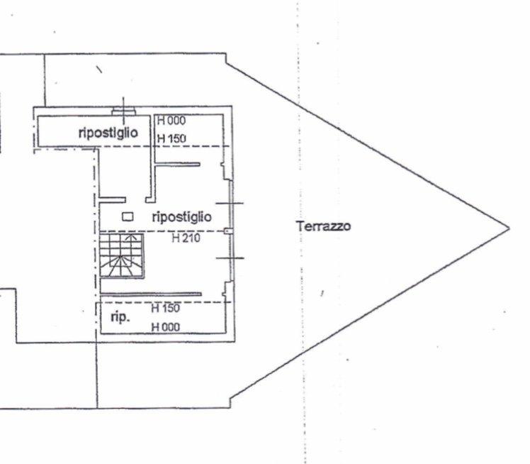 planimetria super-attico