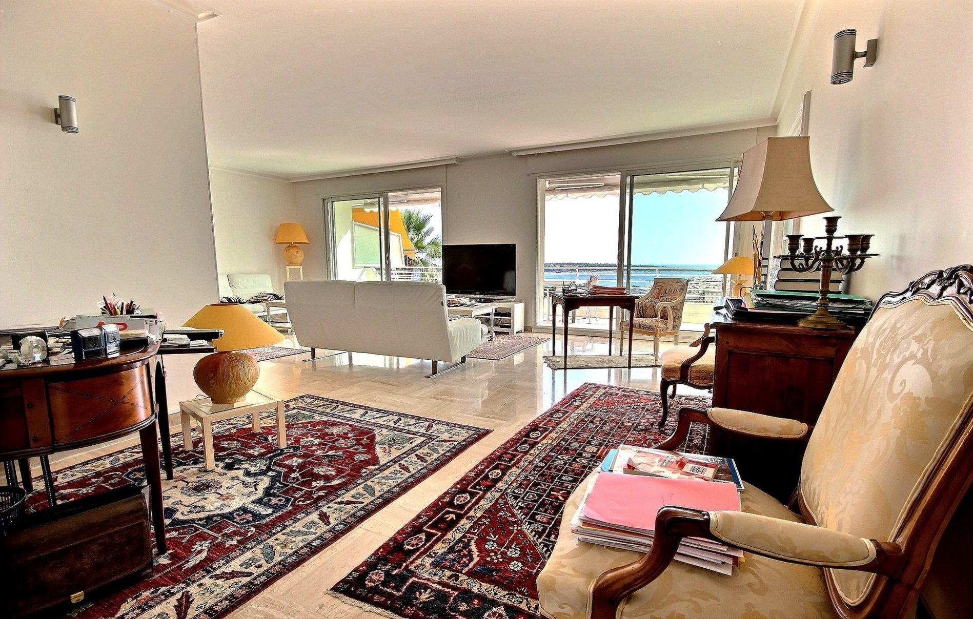 Cannes Basse Californie3/4P 121 m2 sea view