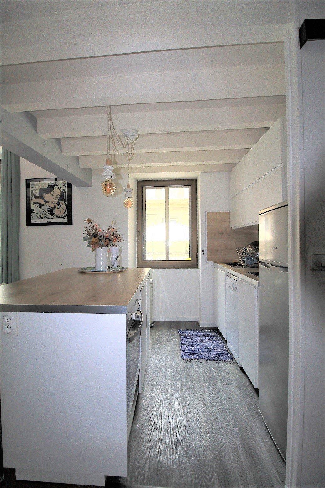 Carmes, T2 bis de 60 m² meublé