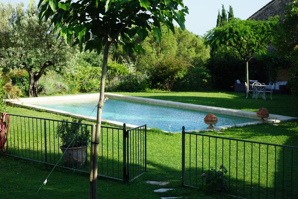 Maison de maîtres Jardin Piscine