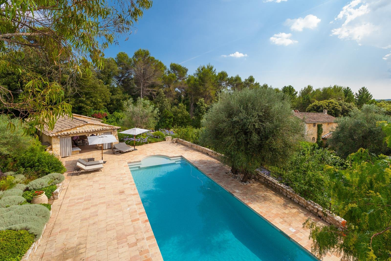 SOLE AGENT - Roquefort Les Pins  - Beautiful Mas in green surroundings