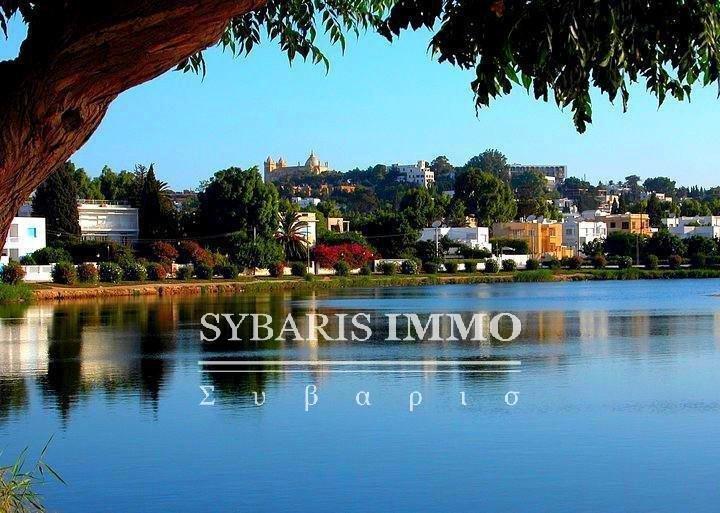 villa plain pied à Carthage - Tunis