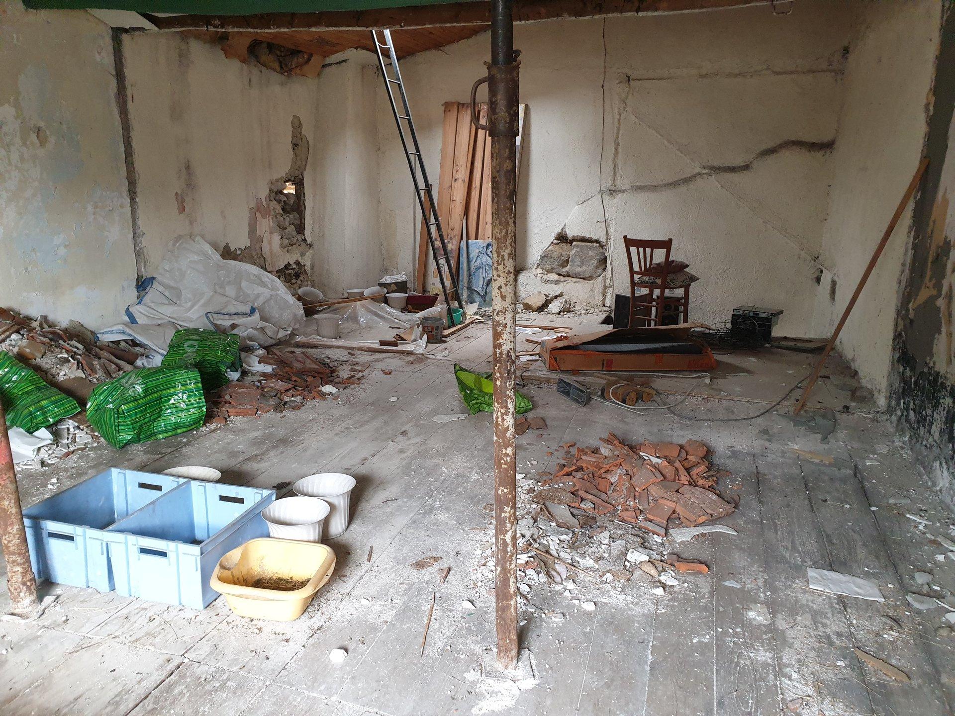 Maison de bourg à rénover