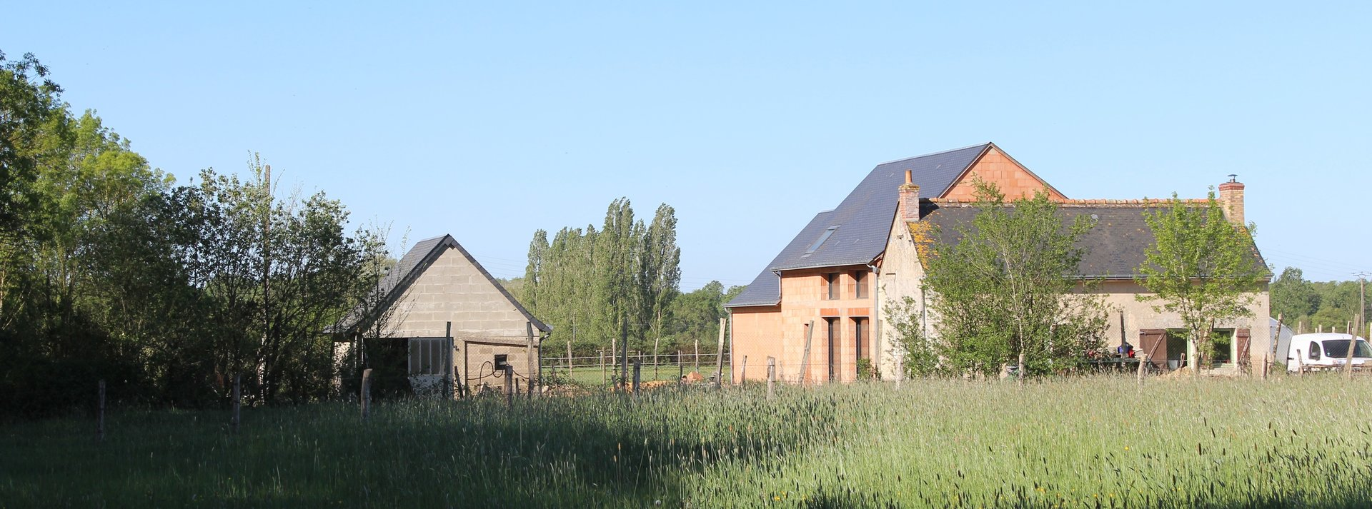 Grande maison à finir - Courcelles de touraine