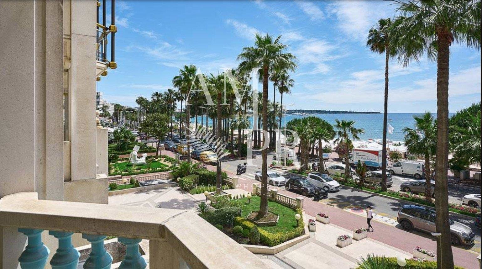 CANNES CROISETTE - MAGNIFICENT SEA VIEW