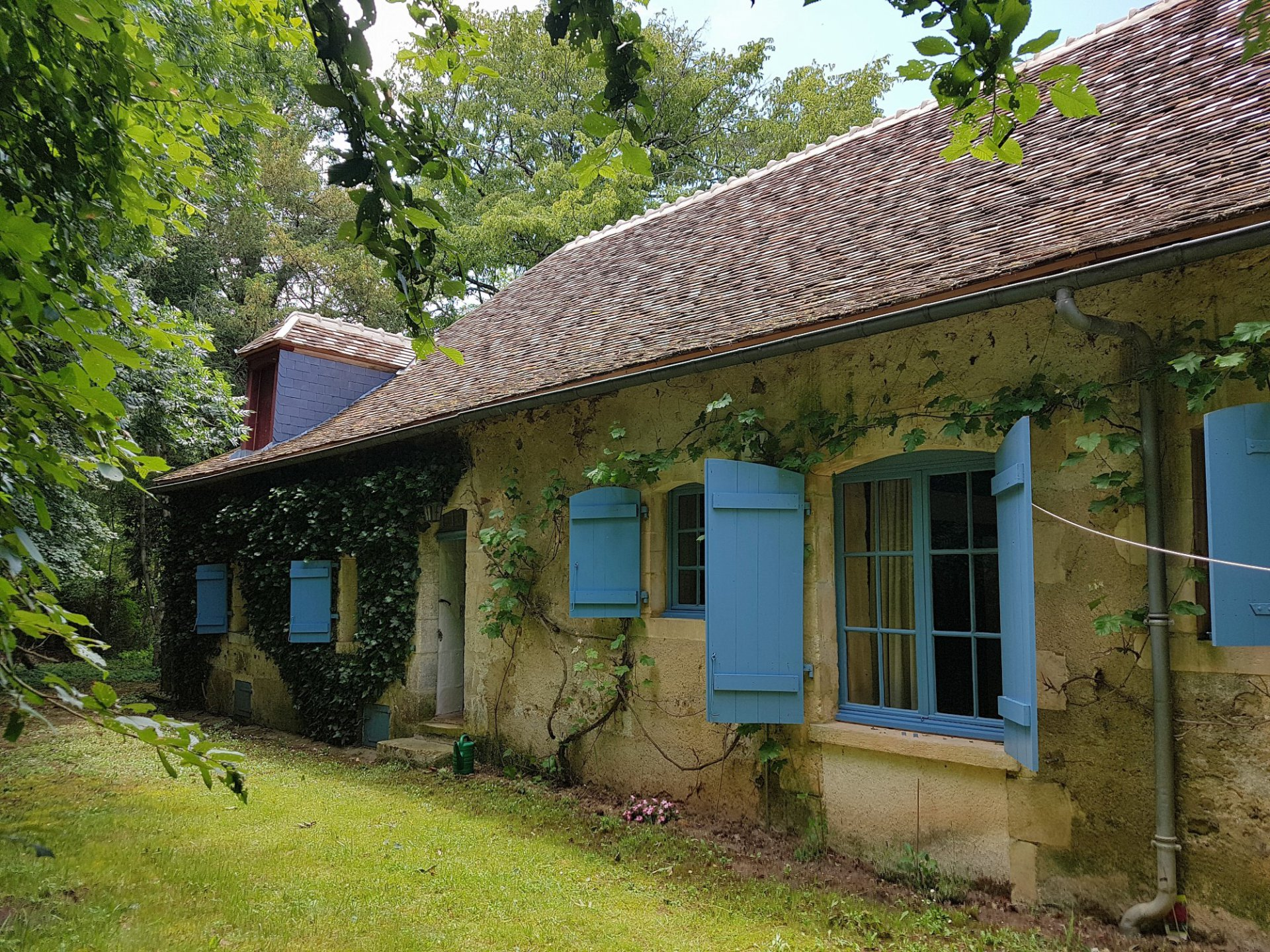 Brenne, Indre 36: schönes Haus mit Weinkellern und Garten
