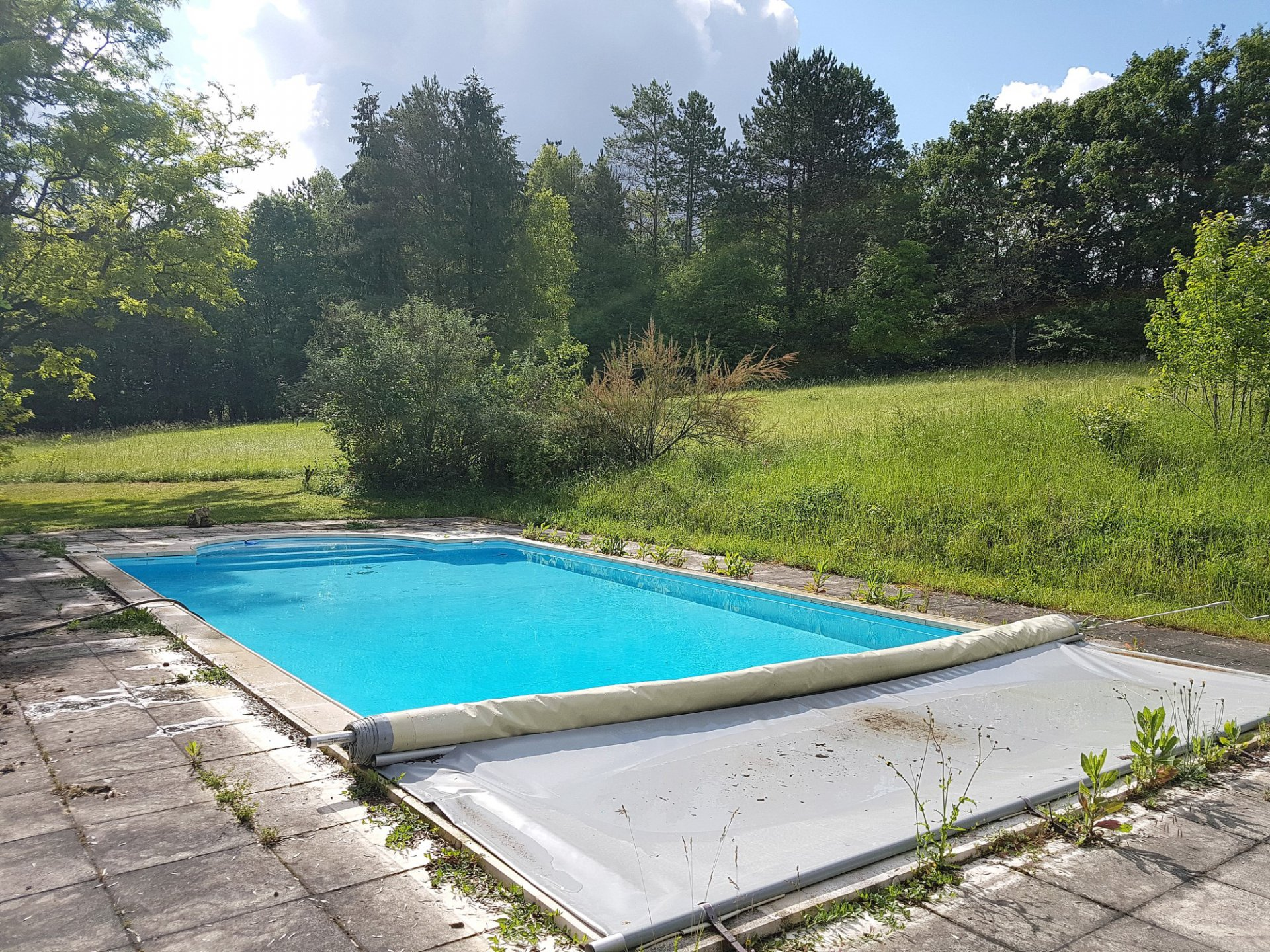 Touraine du Sud, Indre et Loire (37), property with pool and lake
