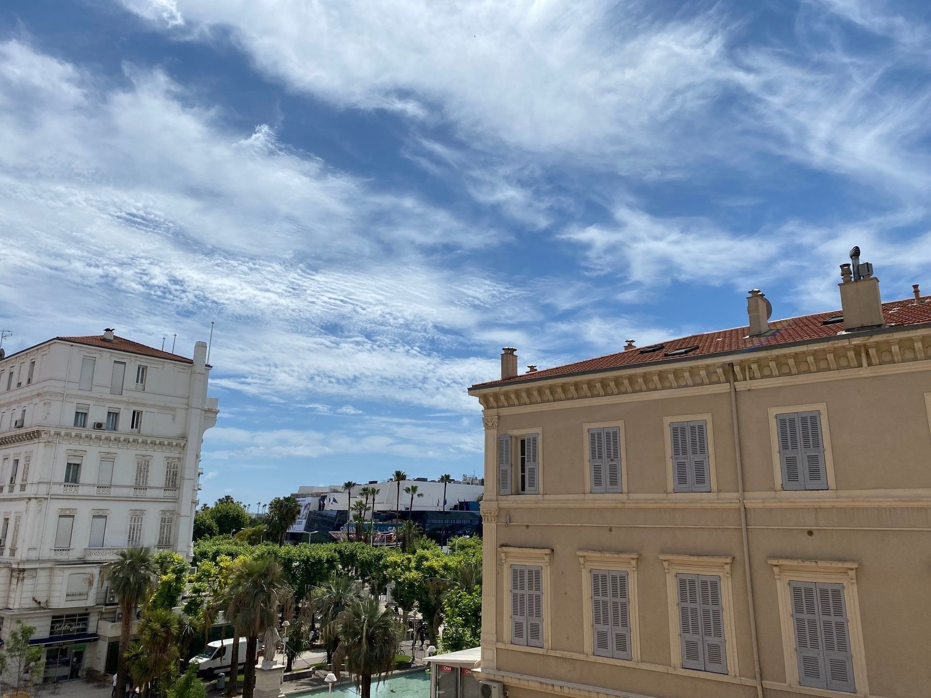 """Old Port of Cannes, in fornt of the """"Palais des Festivals"""""""