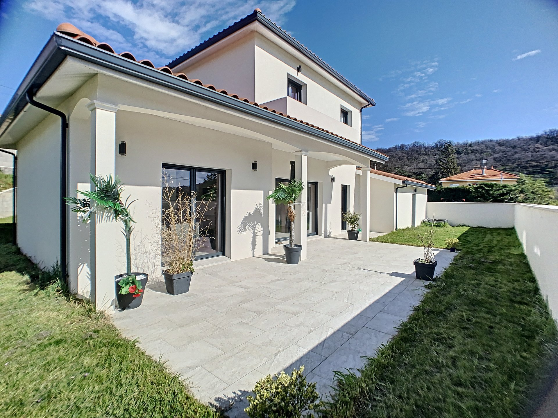villa contemporaine  4 chambres 160 m²