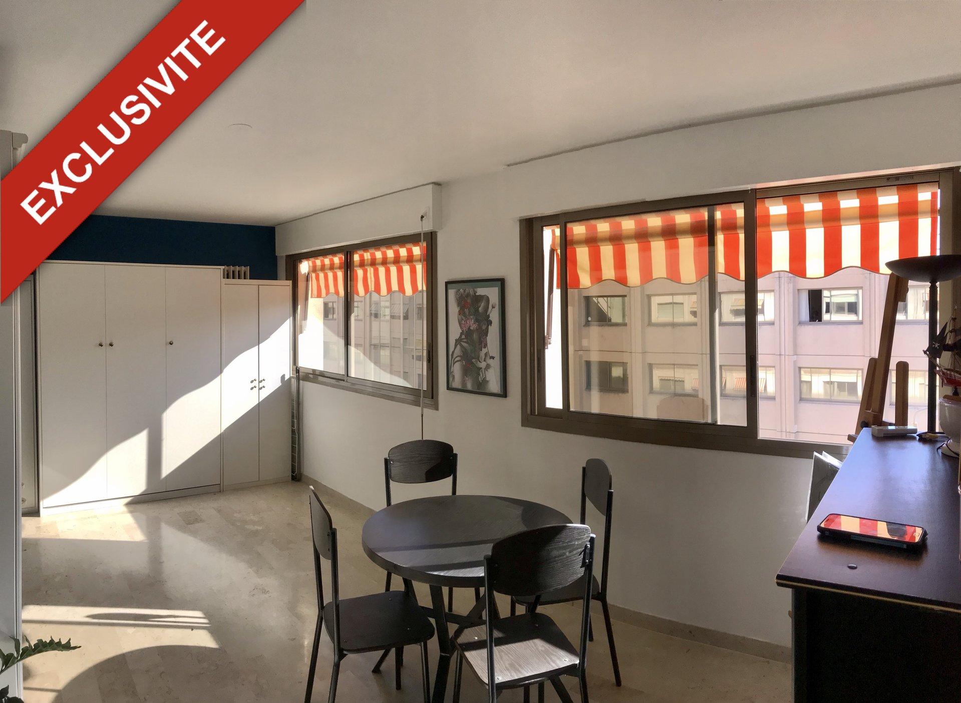 Studio de 31m² en plein centre ville