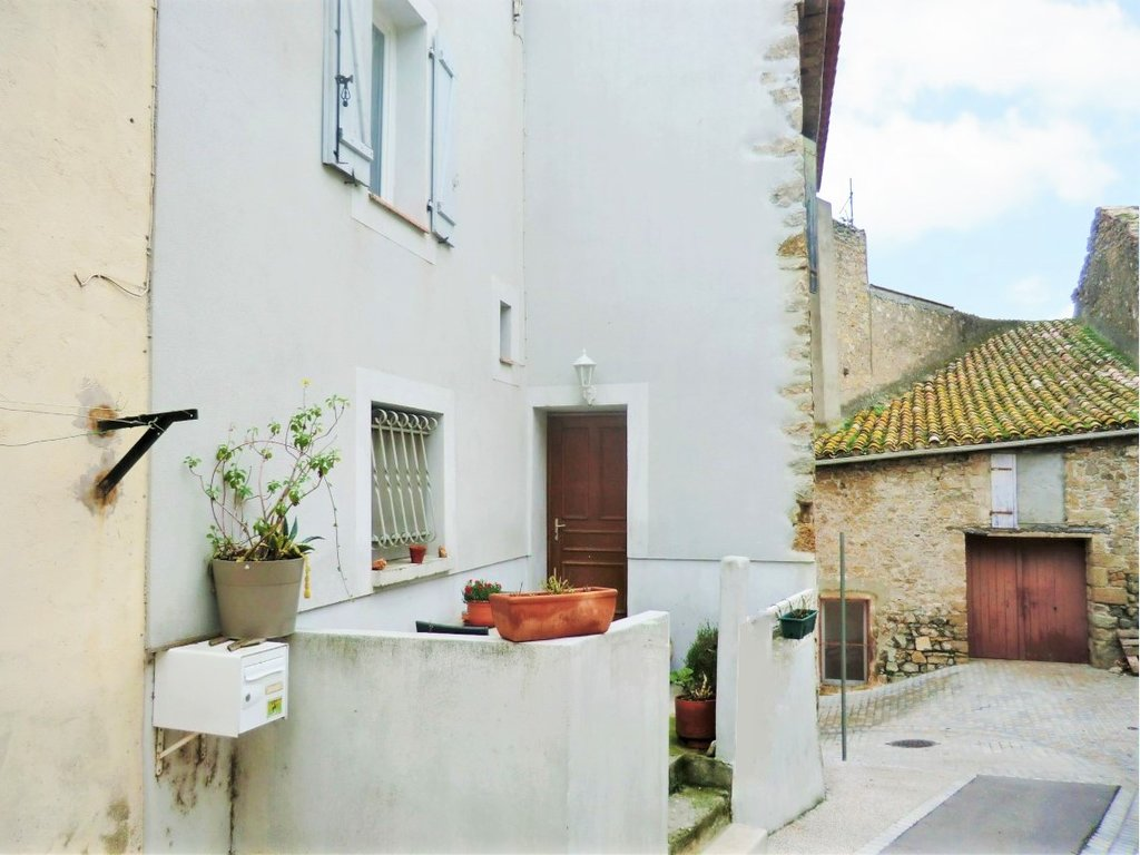 Well renovated stone built property with terrace