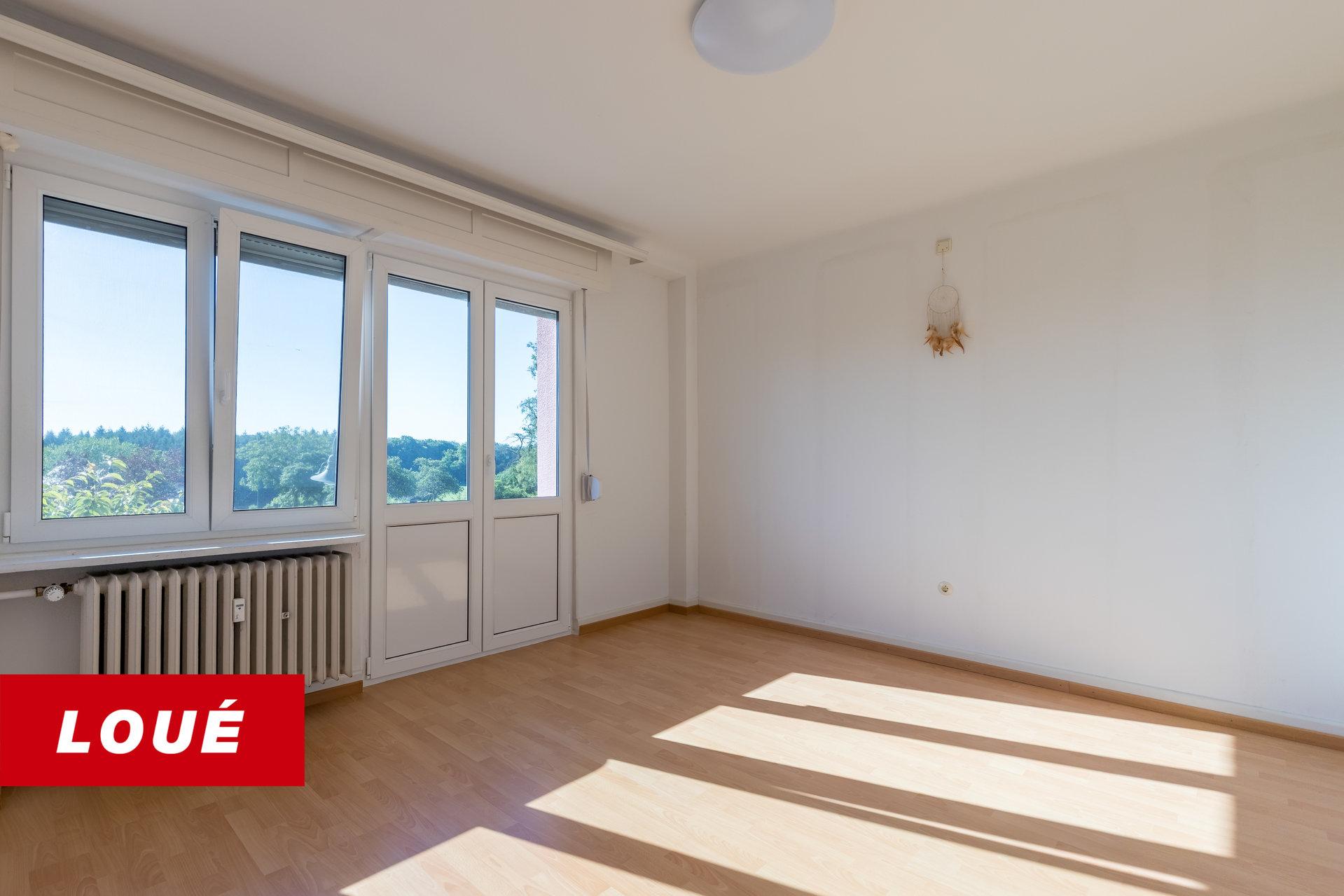 RENTED - appartment/duplex 2 bedrooms in Consdorf
