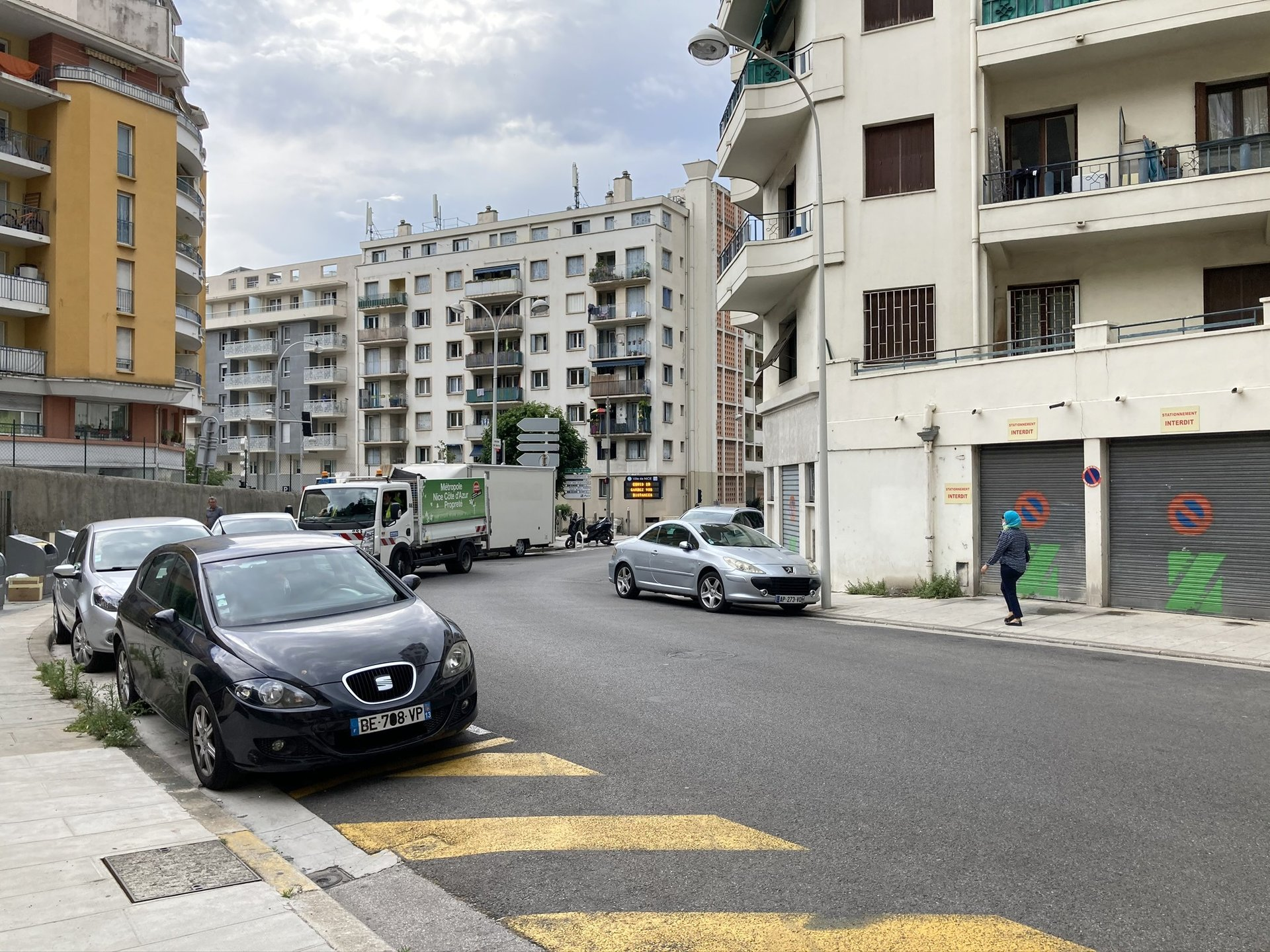 location Nice, local commercial 40.37m² situé bas Saint Roch