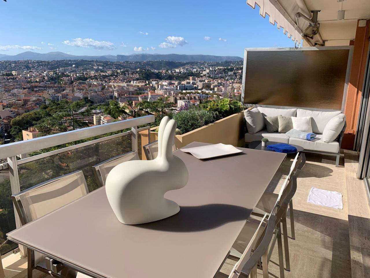 Magnifique 2P avec terrasse et piscine - Nice Mont Boron