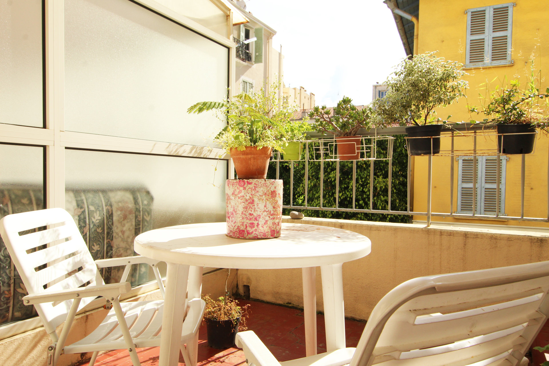 Nice Fleurs / Rue de France - Studio with terrace