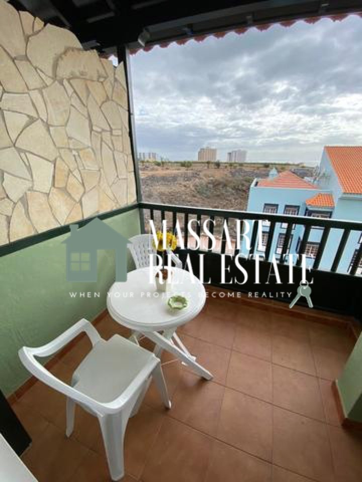 For sale in Callao Salvaje, in the Sunset View residential complex, a fully furnished apartment of 70 m2.