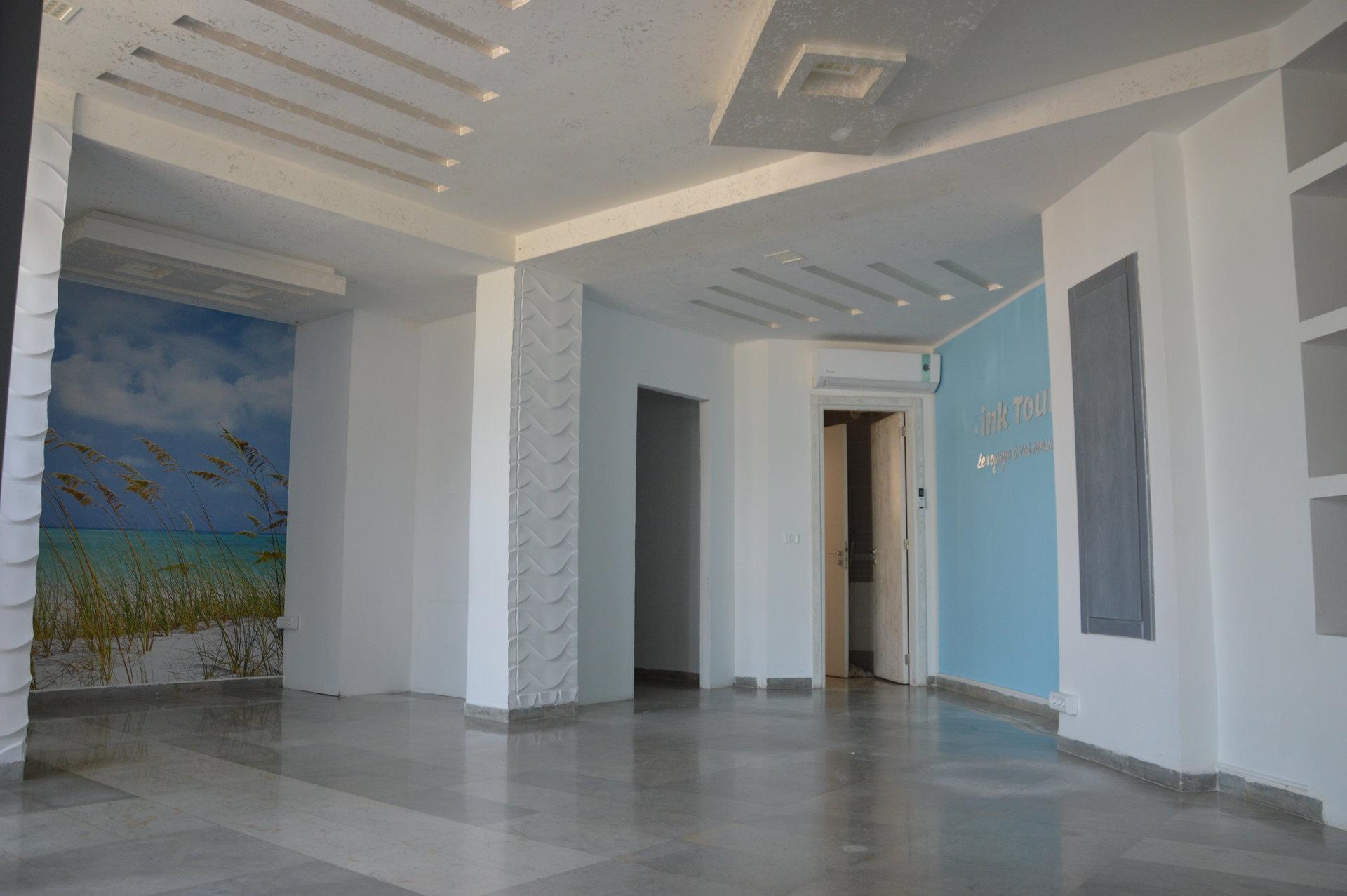 a louer  bureau open space lac 1