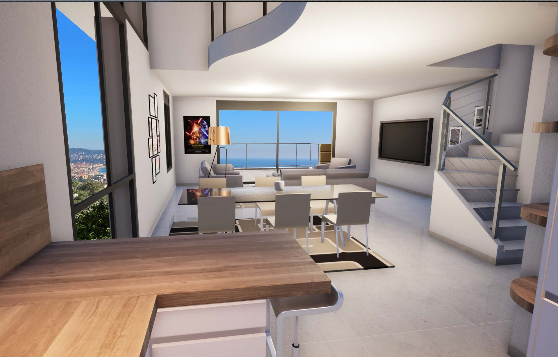 Vente Duplex - Nice