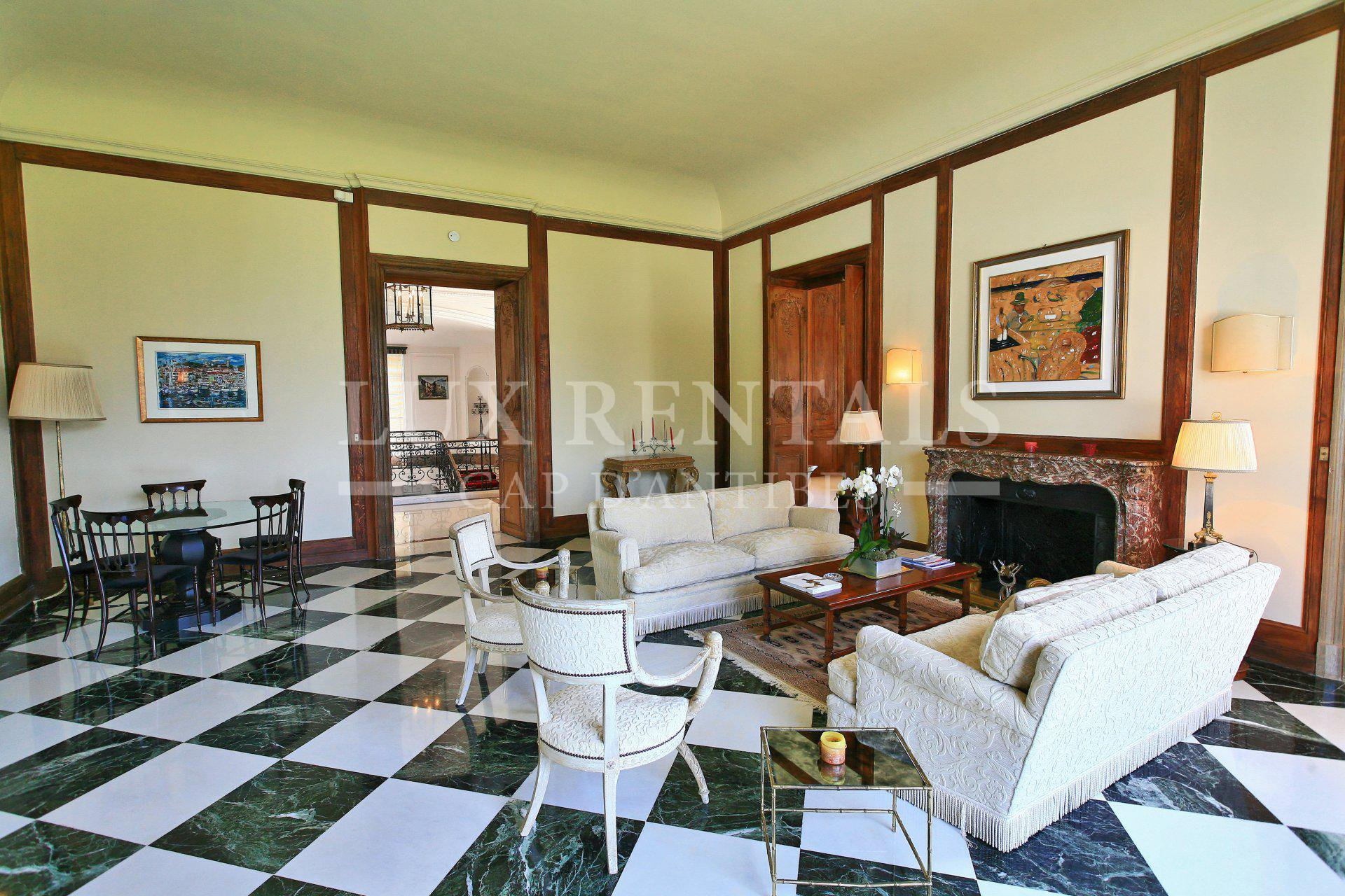 Сезонная аренда Поместье - Кап д'Антиб (Cap d'Antibes)