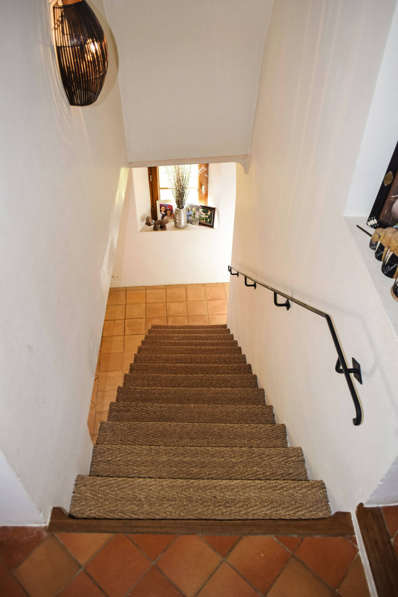 stairs 1fst floor old barn renovated on 8 ha, isolated aups var provence verdon