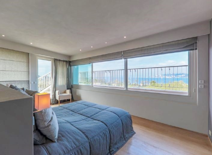 PENTHOUSE WITH PANORAMIC SEA VIEW IN WEST CAP D'ANTIBES