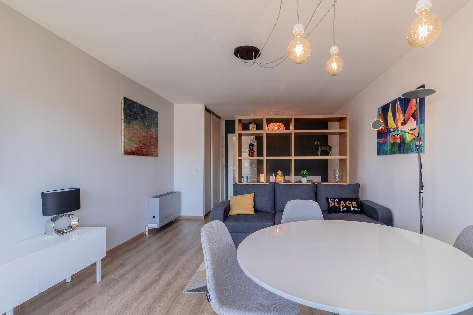 Juan les pins, studio 31m² terrasse, cave & parking