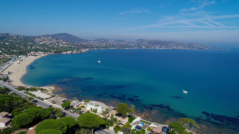 Magnifique villa vue mer panoramique à 50 m de la plage