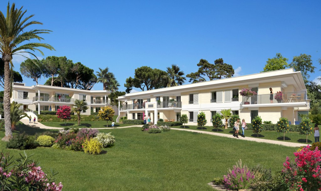 GOLFE-JUAN - French Riviera - Premium waterfront One bed Apartment with sea view