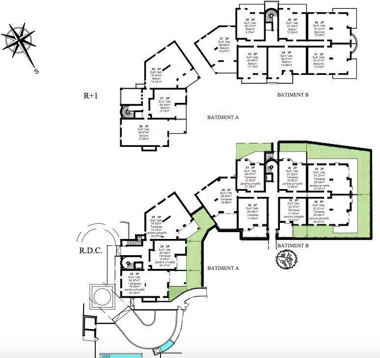 GOLFE-JUAN - Région PACA - vente appartement neuf d'exception - vue mer